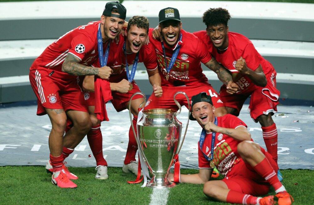 Müncheni Bayern on taaskord Meistrite liiga võitja.