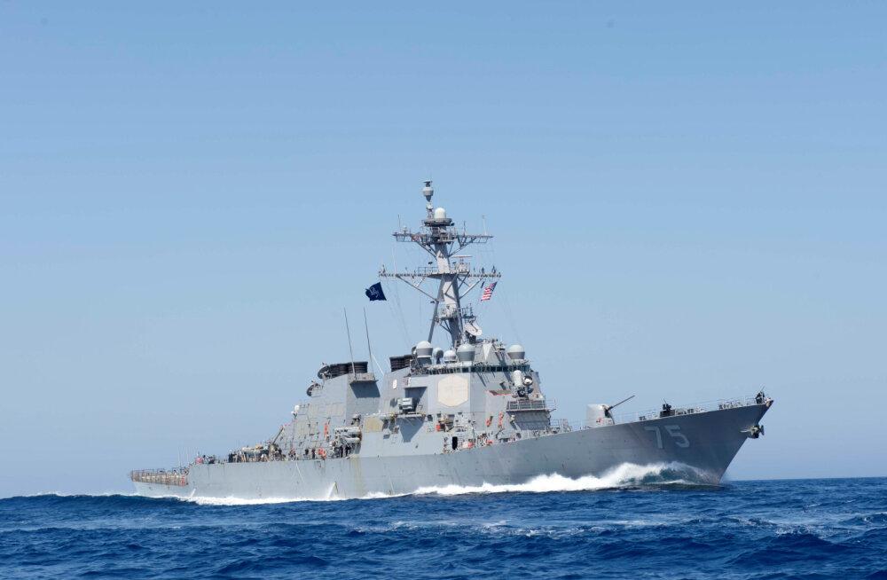USA saatis Mustale merele oma sõjalaeva USS Donald Cook