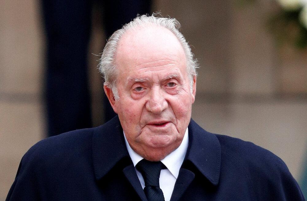 Hispaania korruptsioonikahtlusega endine kuningas Juan Carlos lahkus kodumaalt
