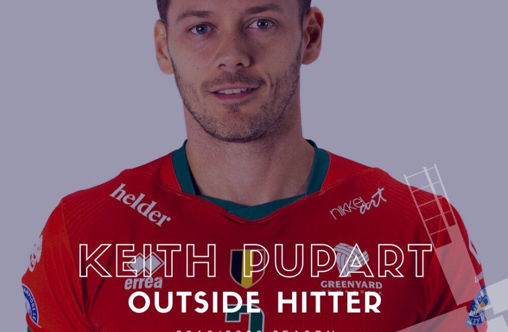 Saaremaa võrkpalliklubiga liitunud kauaaegne Eesti koondislane Keith Pupart: kokku on saadud korralik punt