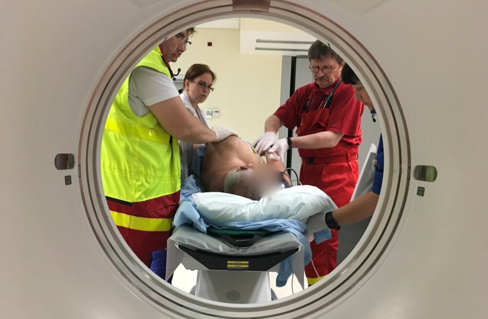 Vaid viiendik patsientidest toodi mullu EMOdesse kiirabiga, enamik pöördus ise.