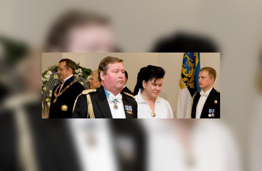 Venemaa president pani Eesti päästeameti juhile märgi rinda