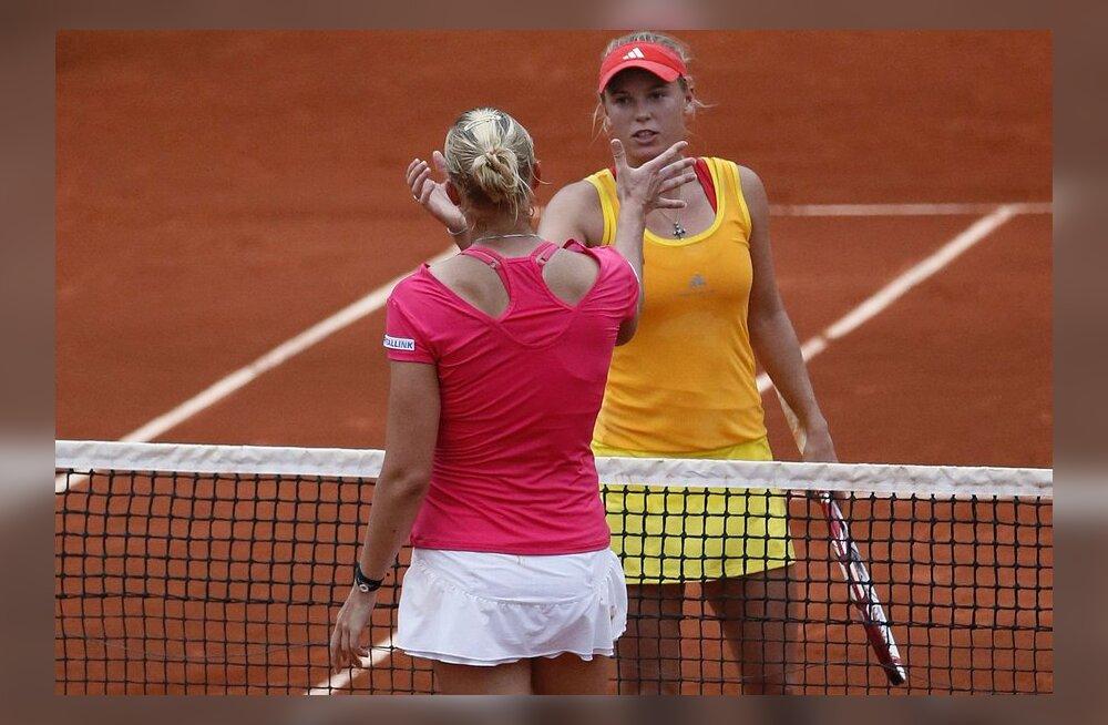 Tallinnas Fed Cupil võib näha Kanepi ja Wozniacki vastasseisu!