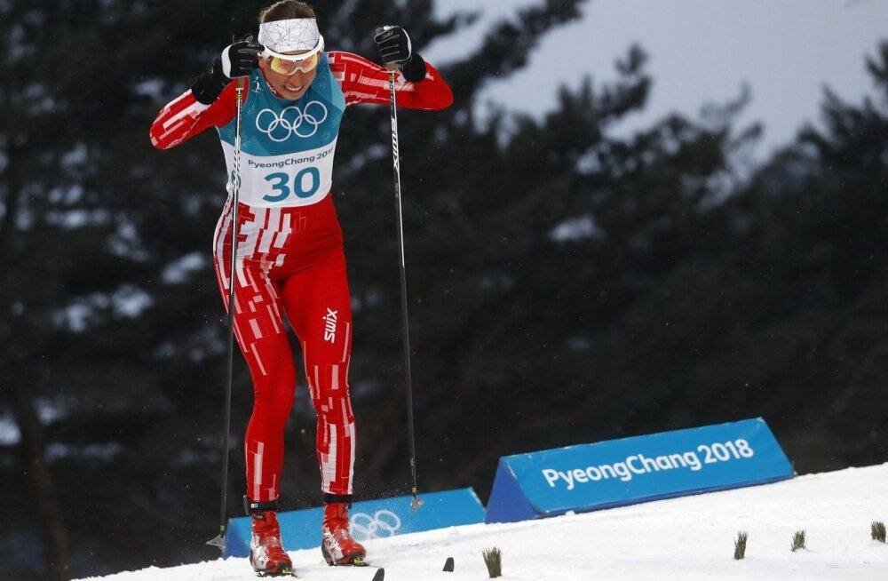 Justyna Kowaldczyk Pyeongchangi olümpial.