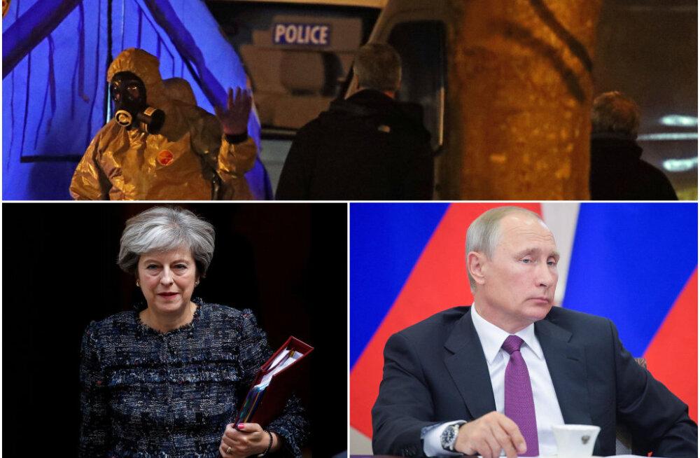 Theresa May: endise spiooni ja ta tütre mürgitamise taga on ilmselt Venemaa