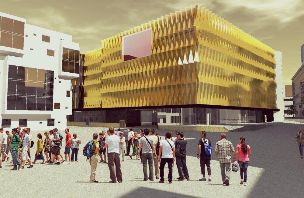 FOTOD | Kuidas hakkab välja nägema postimaja ja kino kokkuehituse järel?