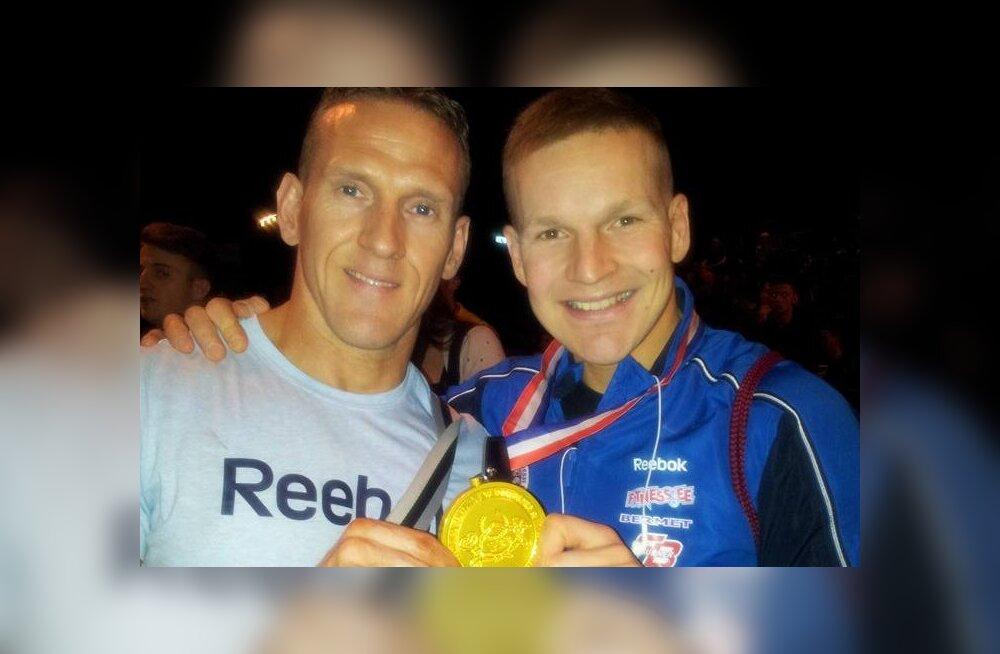 Ott Kiivikas ja Oleg Anissimov