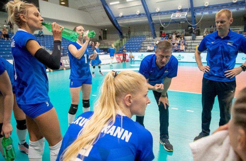 Naiste võrkpall, Eesti-Tšehhi EM valikturniiri kohtumine