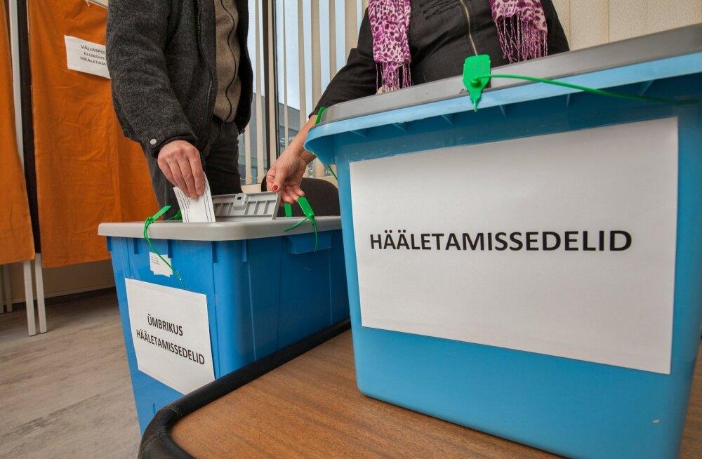 Keila valimisjaoskond, kohalikud valimised