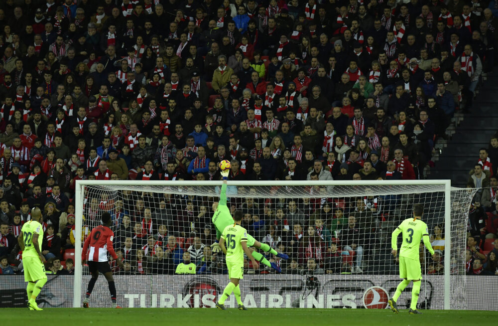VIDEO   Barcelona ei saanud võõrsil Athleticust jagu ja kaotas punkte