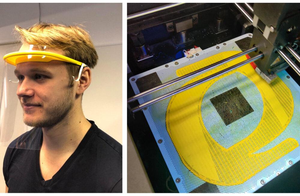 Eesti ettevõtja hakkas tootma 3D-prinditud kaitsemaske