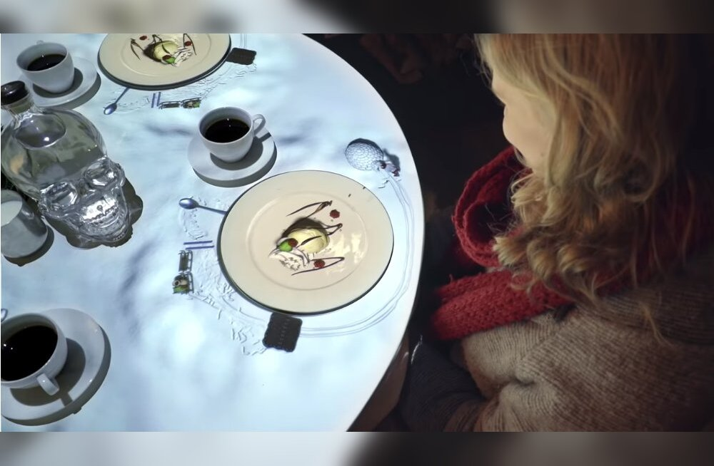 ВИДЕО. 3D шеф-повар на вашей тарелке: необычный ресторан, откуда не захочется уходить