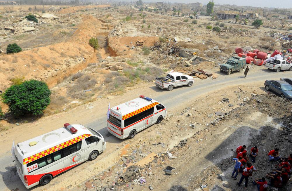 Kokkulepe: Süüria sõja üks pikemaid piiramisi lõppeb valitsuse võidu ja elanike lahkumisega