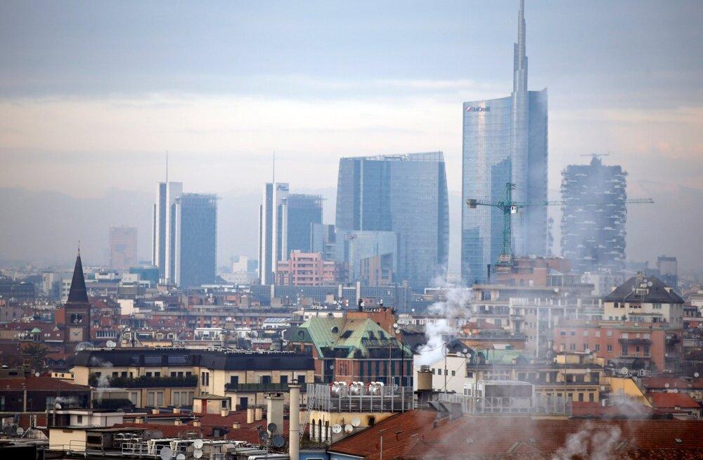 Itaalias piirati ohtliku õhusaaste tõttu autoliiklust ja pitsade küpsetamist