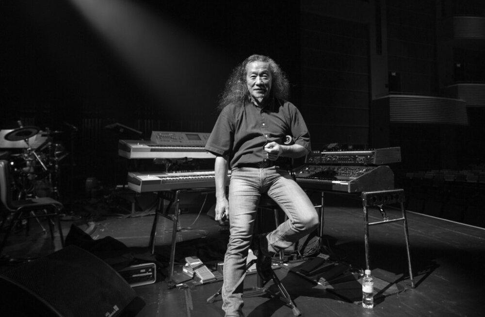 Ülitervislik: 16 Grammy nominent Kitaro soovib lava taha orgaaniliselt kasvatatud Eesti toitu