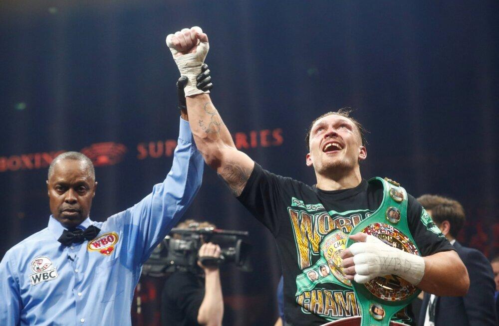 FOTOD JA VIDEO | Vladimir Klitško õpilane võttis Riia publiku soosikult WBC tiitlivöö