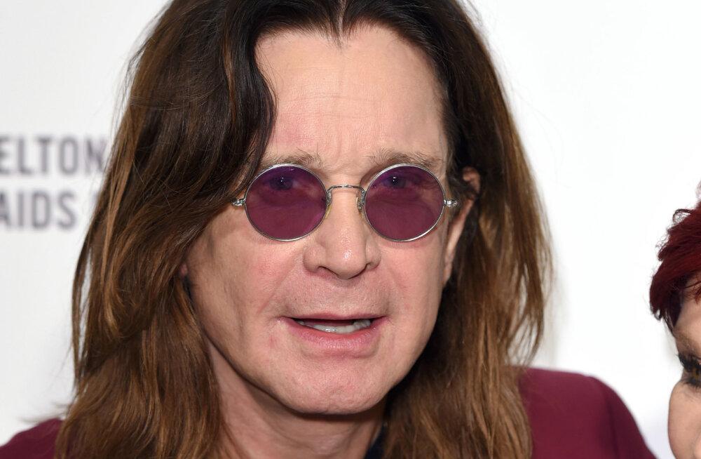 Ozzy Osbourne pakkus kitarrivargale instrumentide tagastamise eest üüratu rahasumma