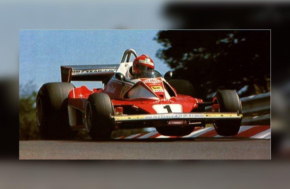 F1 aastal 1976: Niki Lauda sai tõsiselt põletada, ka MM-tiitel võeti tema eest ära