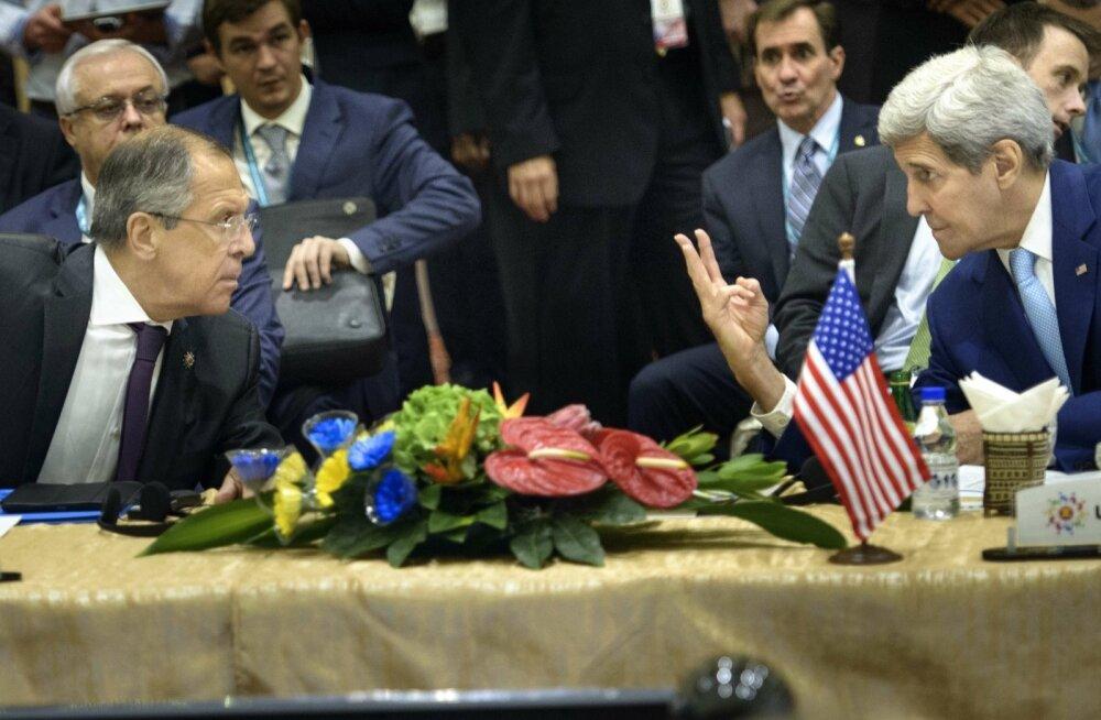 Kerry helistas kolmandat korda Lavrovile, et pärida aru Venemaa tegevuse kohta Süürias