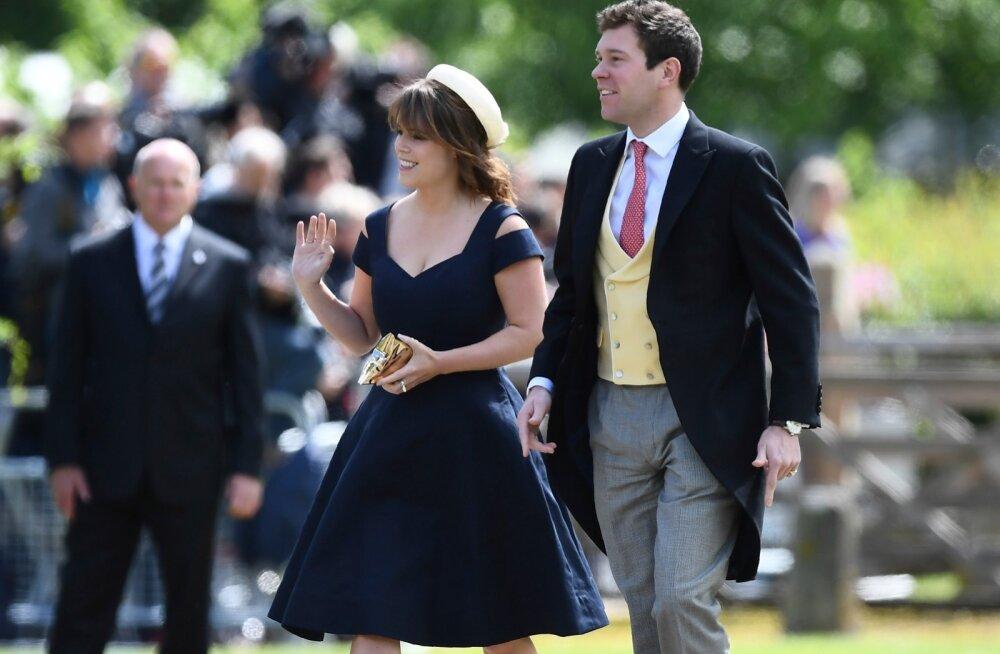 Printsess Eugenie koos kaaslase Jack Brooksbankiga