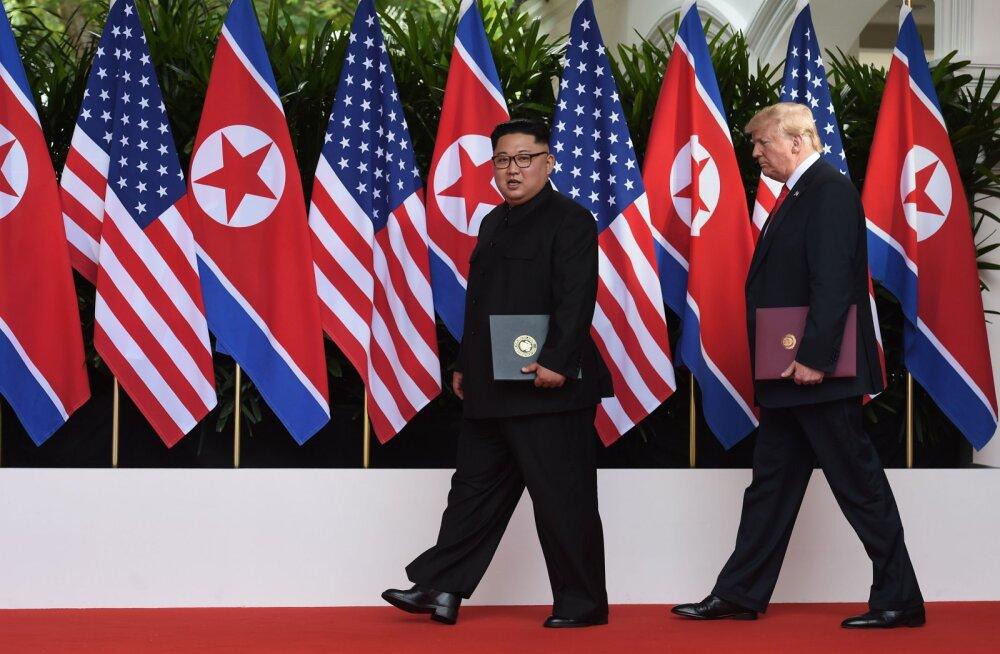 USA läks Põhja-Koreaga tülli salapärase vihakirja pärast