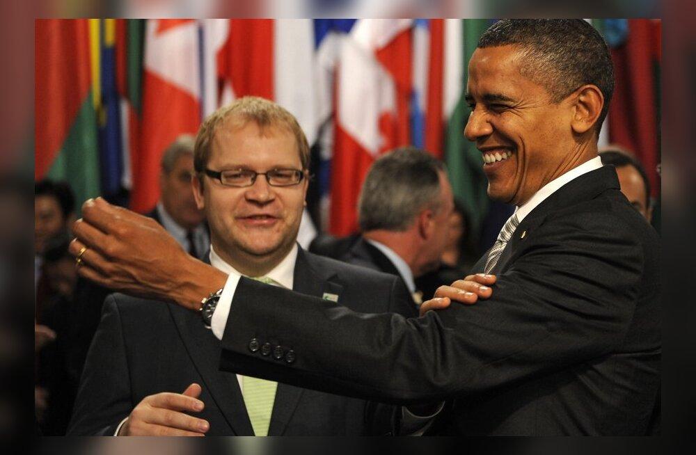 Urmas Paet õnnitles Barack Obamat