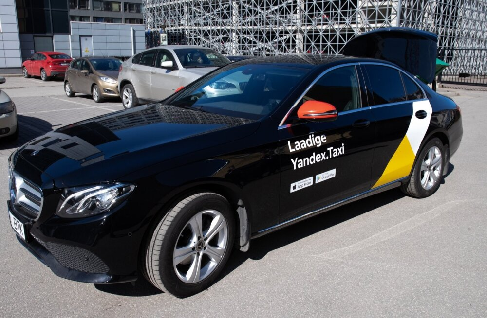 Сервис Yandex Taxi запущен и в Тарту, смотрите как рассчитывается