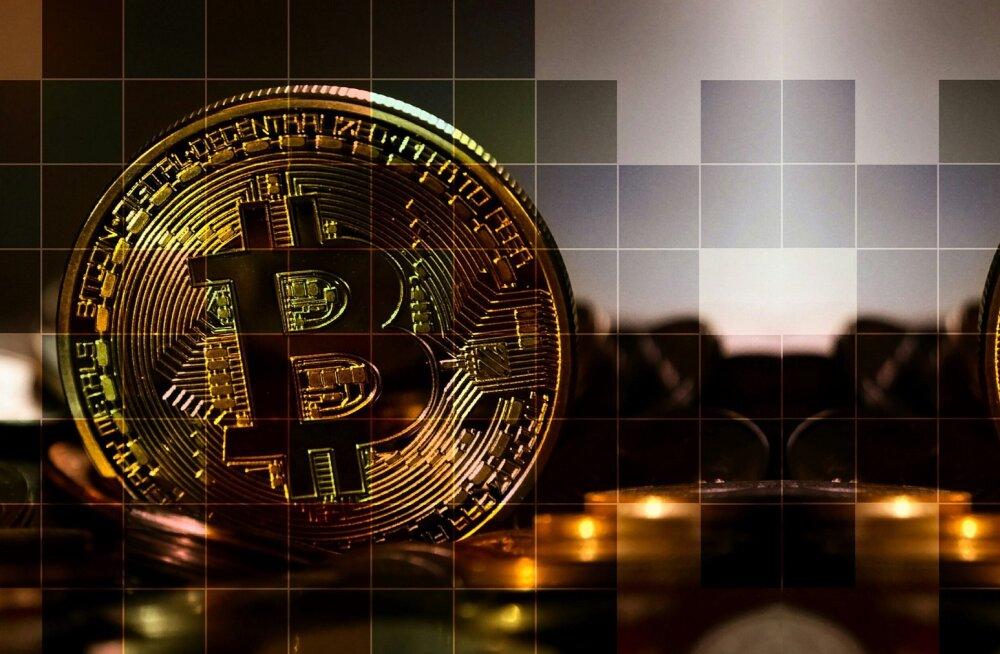 Bitcoini hind tõusis poole tunniga 17%