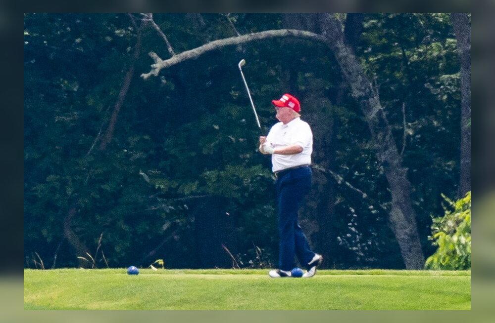 Trump jagas Twitteris videot, milles kuulutati valgete rassistide sõnumit