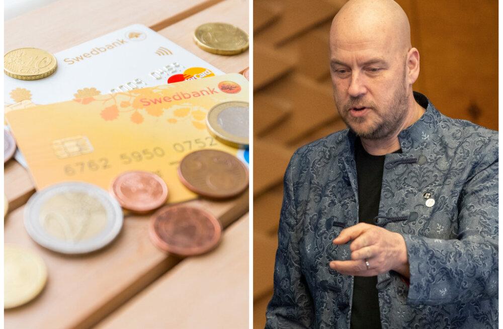Artur Talvik Swedbanki juhtidele: te trampisite väikeinvestorite õigused ja huvid jalge alla ning petsite neid