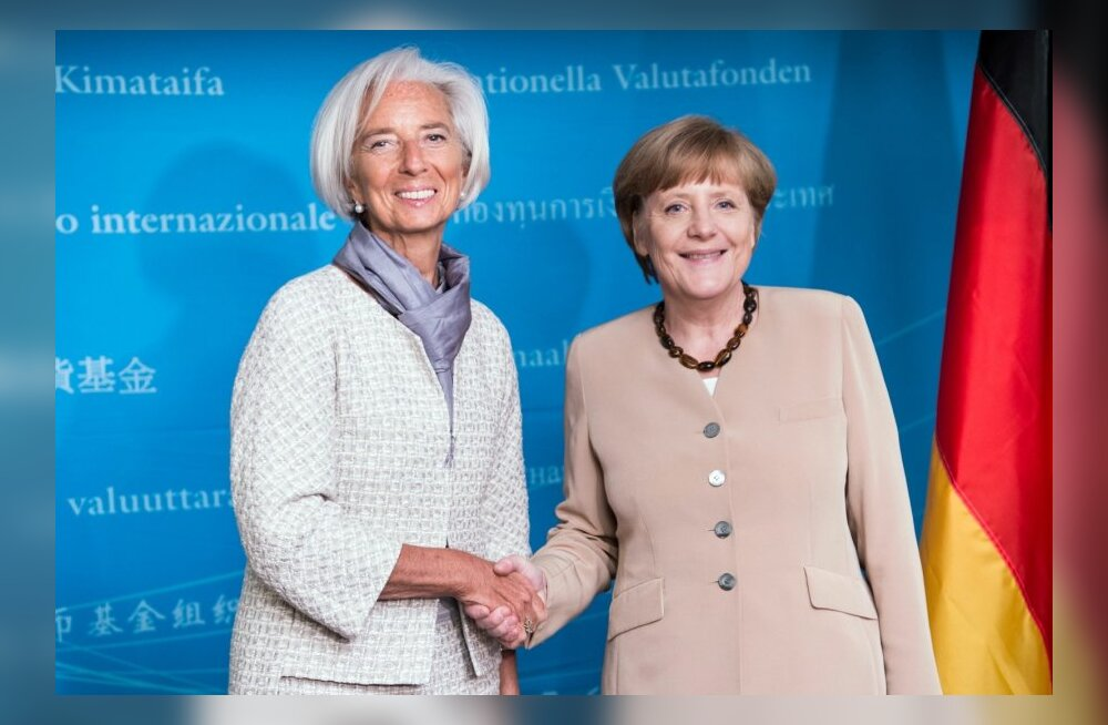 Kaks olulist naist Christine Lagarde ja Angela Merkel. Kas nende käes on tuleviku võti?
