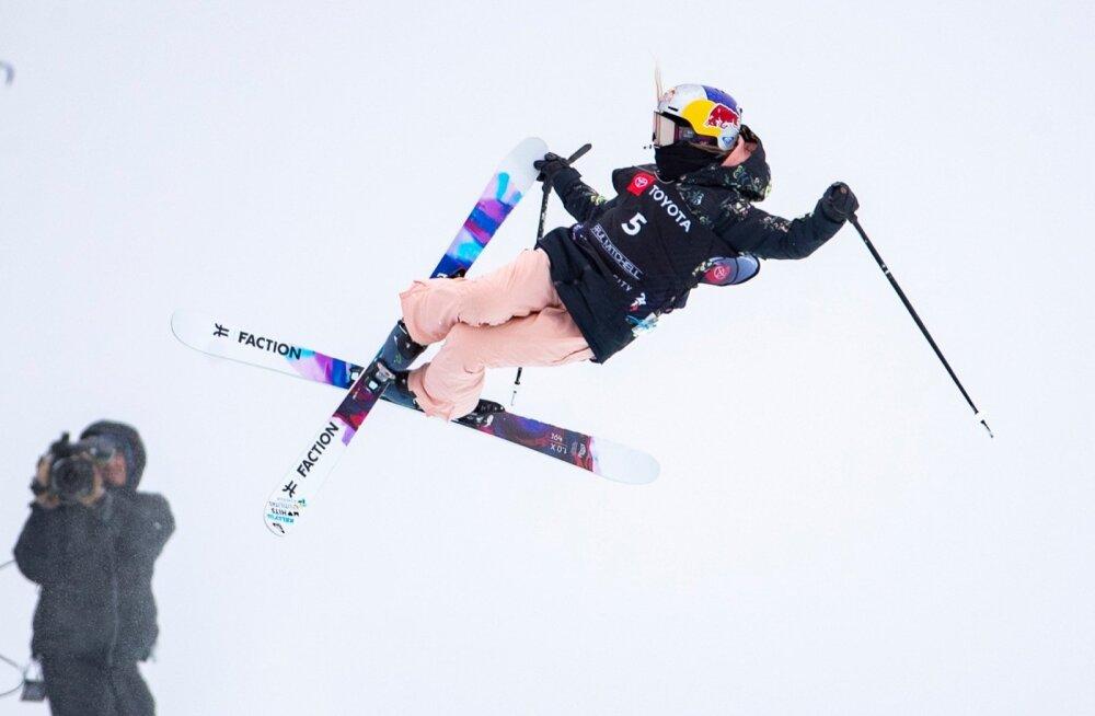Kelly Sildaru rennisõidu finaal 09.02.2019 Park City, Utah