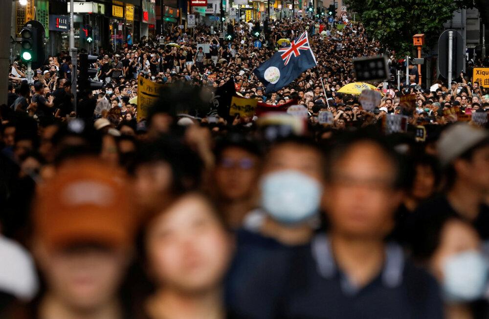 Hongkongi aktivistid tahavad proteste Mandri-Hiinasse eksportida
