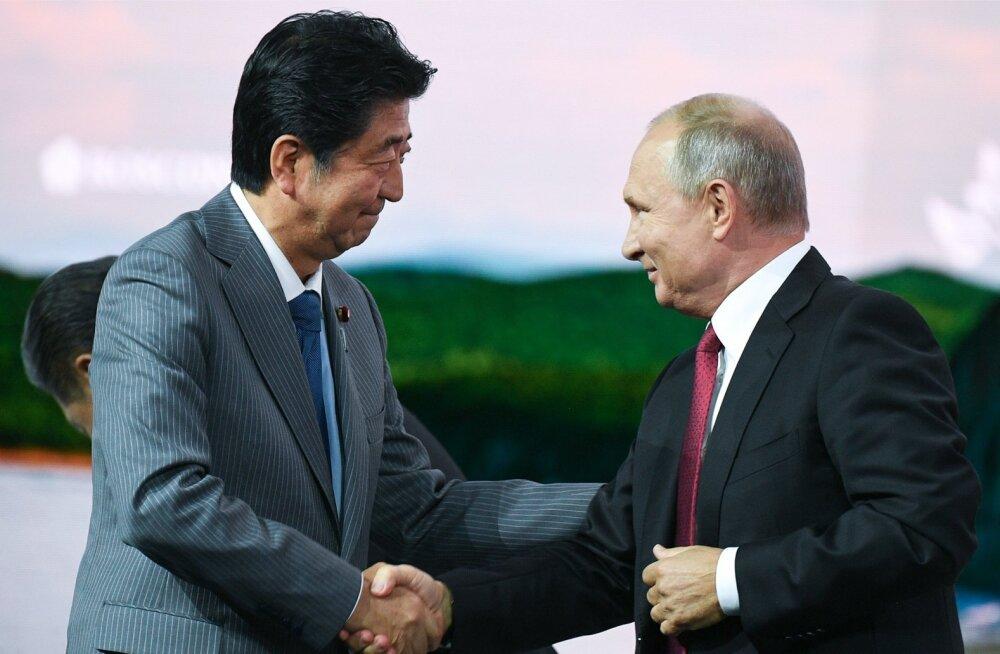 Putin tegi Jaapanile ettepaneku sõlmida enne aasta lõppu tingimusteta rahuleping