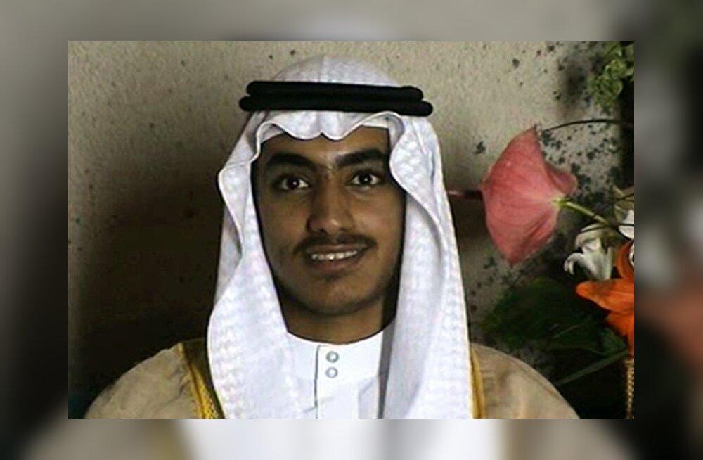USA pani Osama bin Ladeni poja Hamza eest välja miljon dollarit