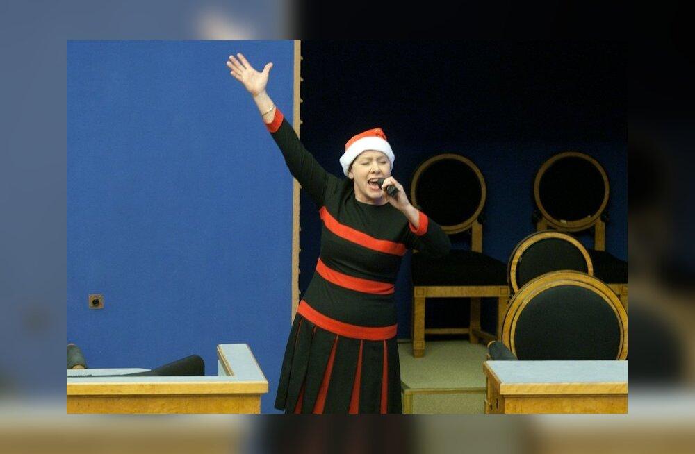"""PUBLIKU LOOS: Võida endale Katrin Karisma plaat """"Sinu rõõmsad jõulud"""""""