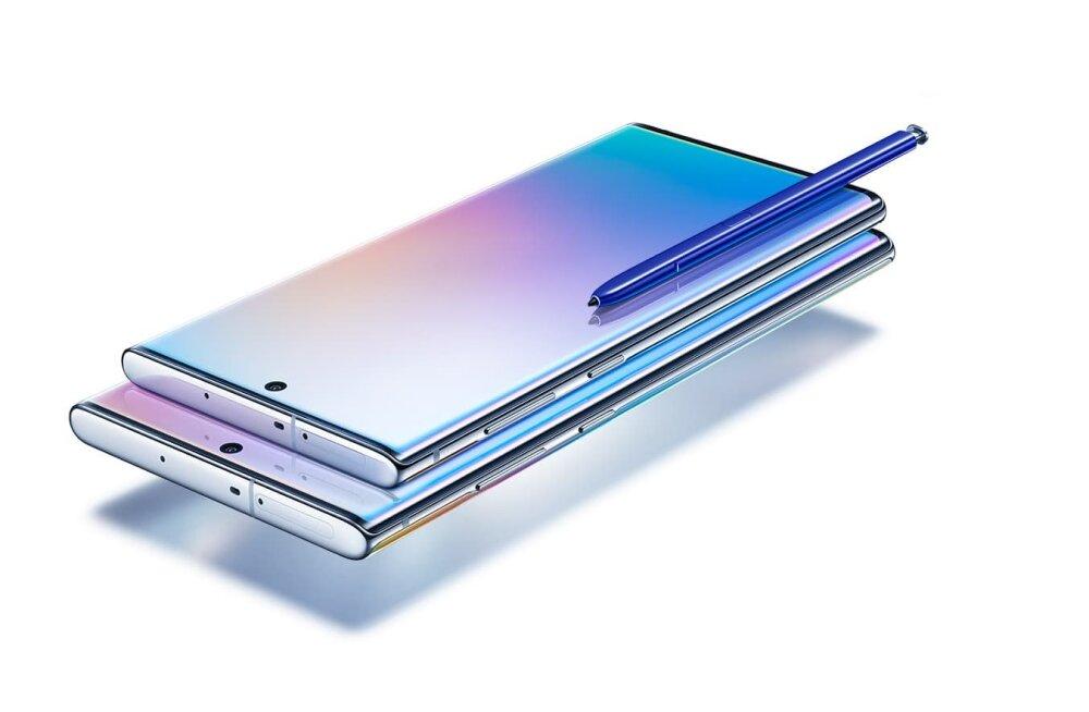 Samsung tutvustas kaht uut äriklassi lipulaevtelefoni