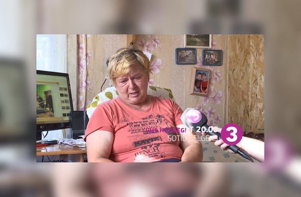 """Eesti inimesed soovivad aidata """"Sotid selgeks"""" saates olnud võlgades prouat!"""
