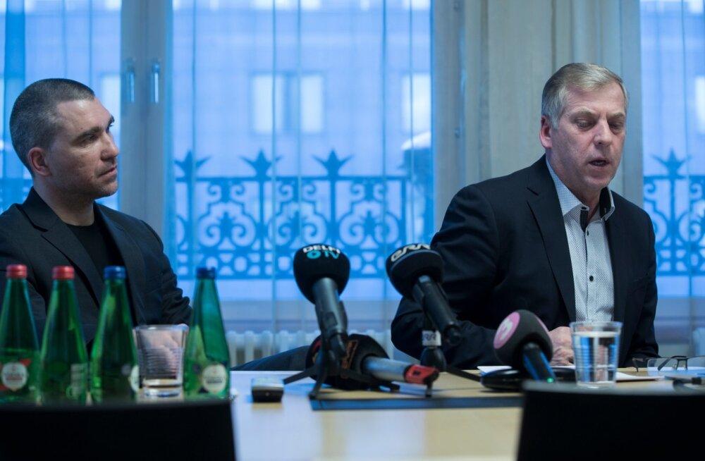 RMK juhatuse esimees Aigar Kallas ja Est-For Investi juhatuse liige Margus Kohava