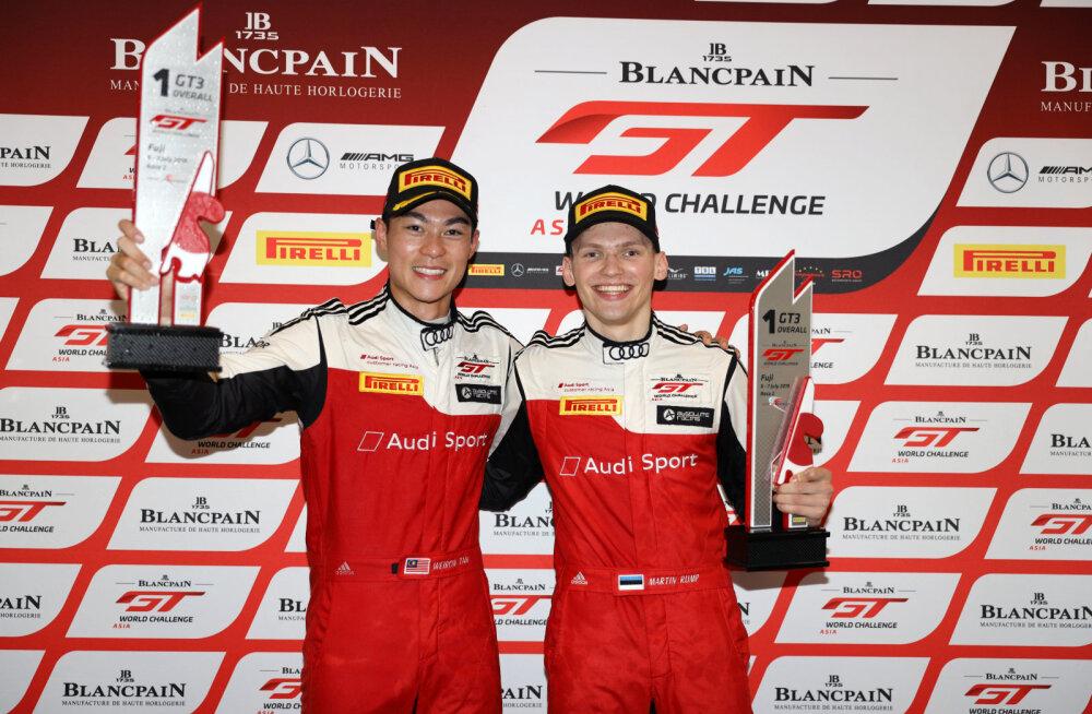 Martin Rump sai Jaapanis hooaja esimese etapivõidu