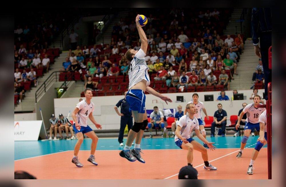 KARM! Eesti võrkpallikoondis kaotas OM kvalifikatsioonimängu Montenegrole 2:3