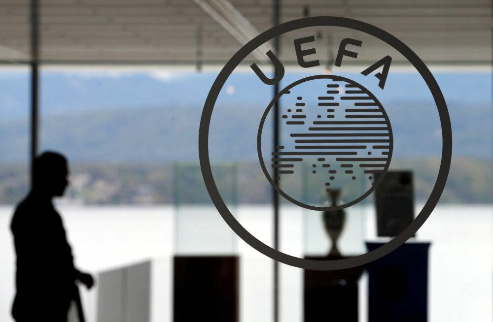 UEFA juhised Euroopa suurtele liigadele: kui mängudega juunis ei jätkata, võite eurokohad välja mängida play-off'is