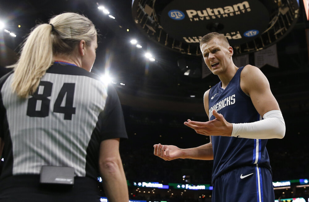 VIDEO | Porzingisel oli õuduste õhtu, Dallas kaotas NBA liidrile