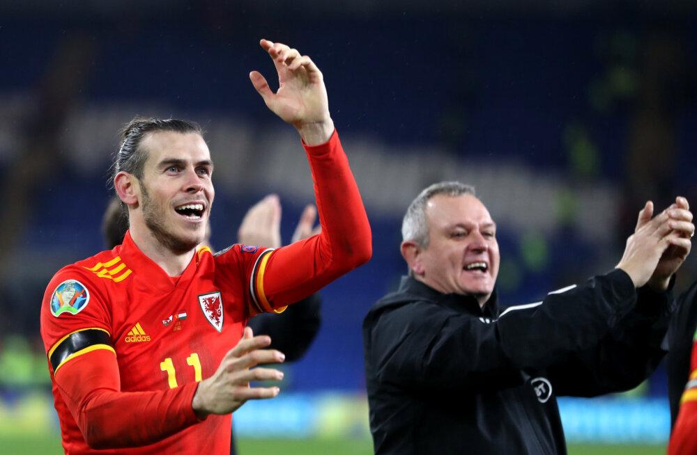 VIDEO | Walesi koondisega EM-ile pääsu tähistanud Gareth Bale saatis kavala torke Reali suunas