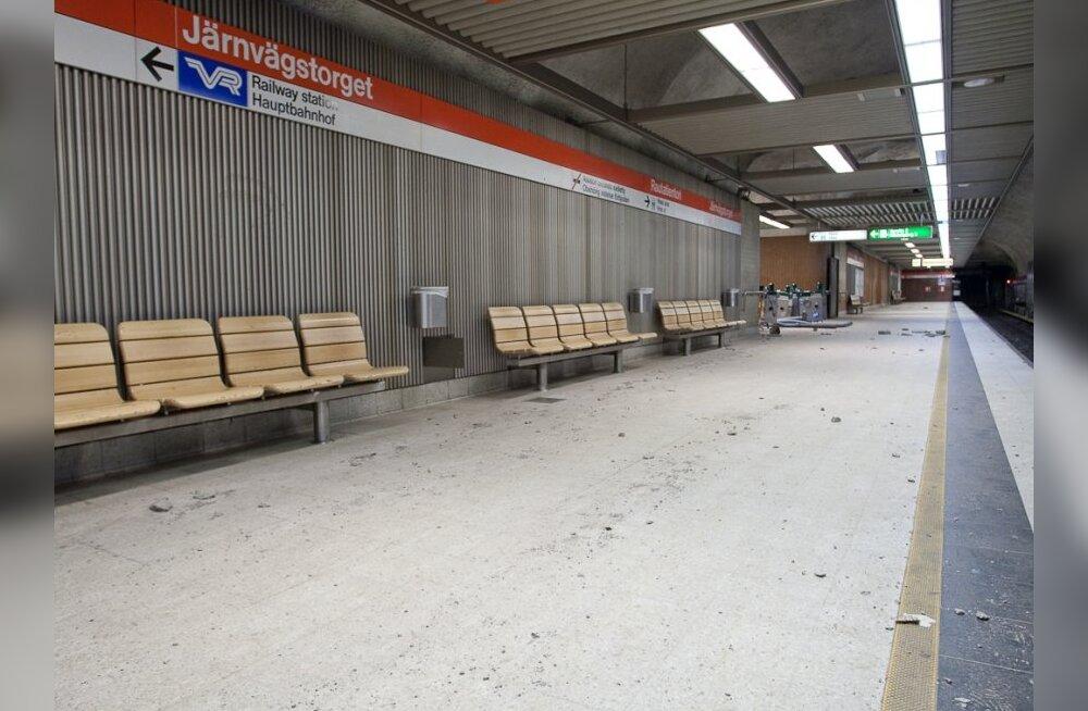 Helsingi metroo liftid saavad urineerimisrennid