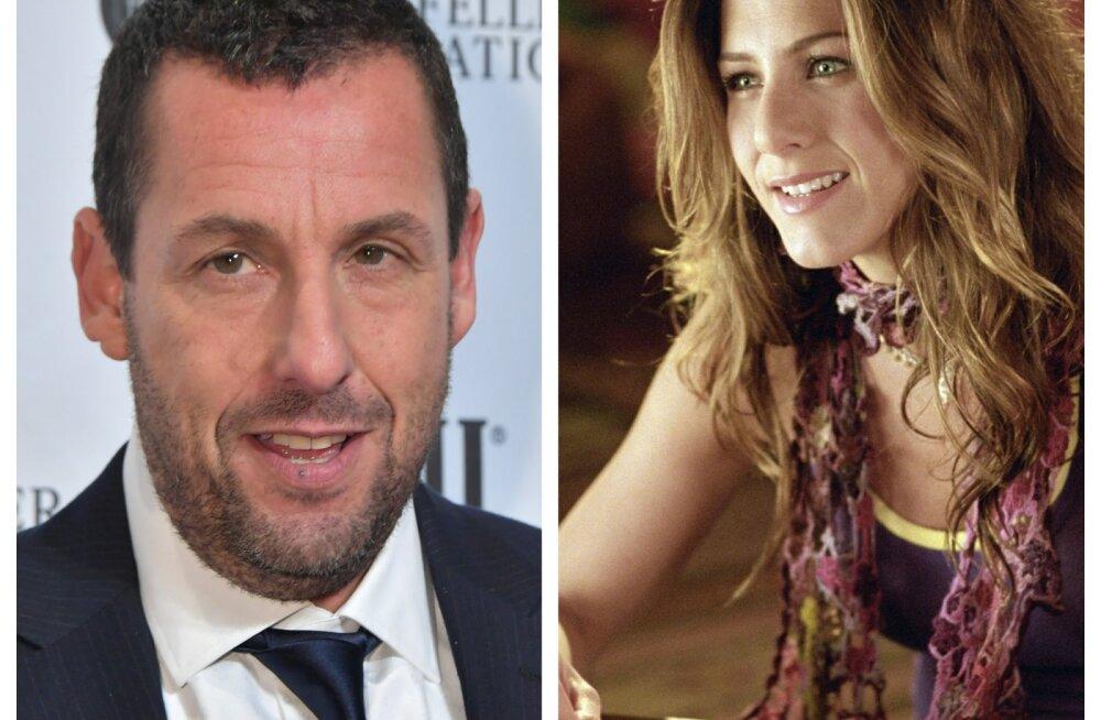 Jennifer Anistoniga suudelnud Adam Sandler paljastas oma abikaasa tunded