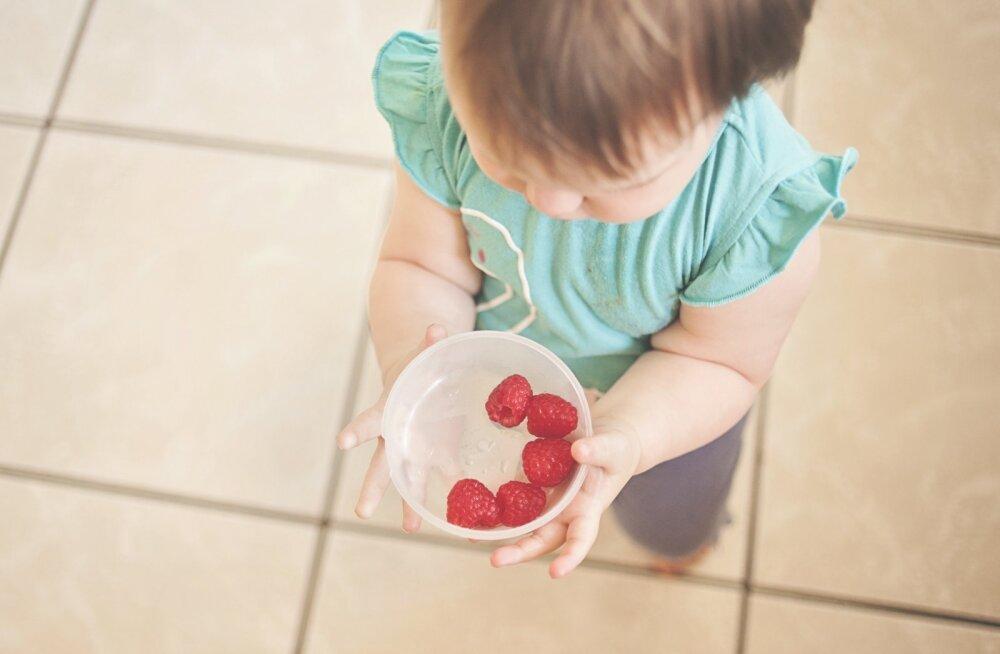 Just sel ajal tuleb lapse toitumisele eriti palju tähelepanu pöörata