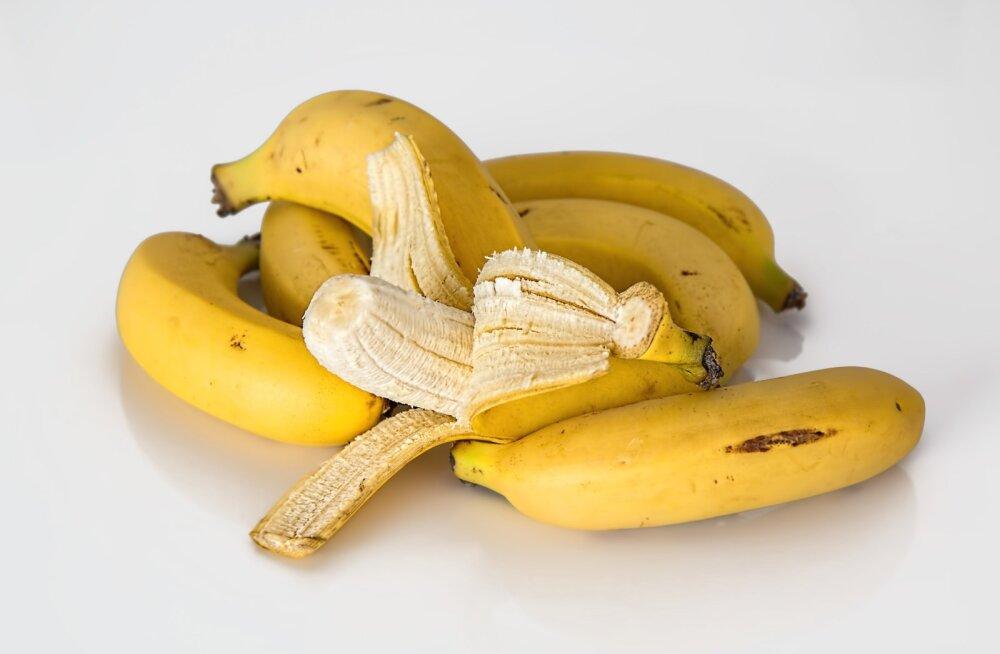 Müüt või mitte? Pruuniks tõmbunud banaanid tuleks prügisse visata, sest need ei kõlba süüa