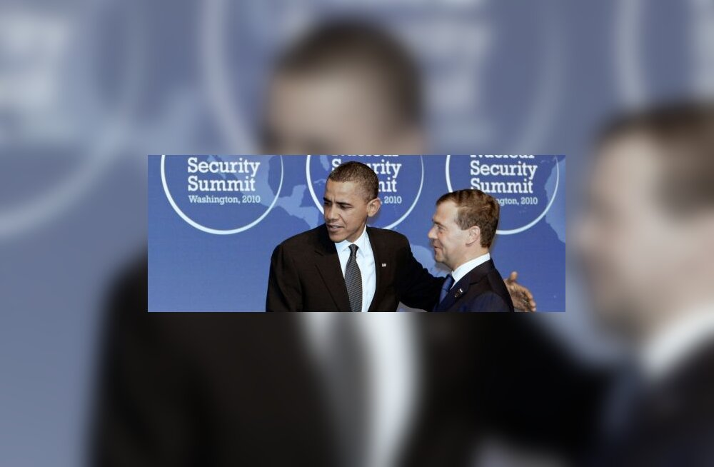 Obama ja Medvedev