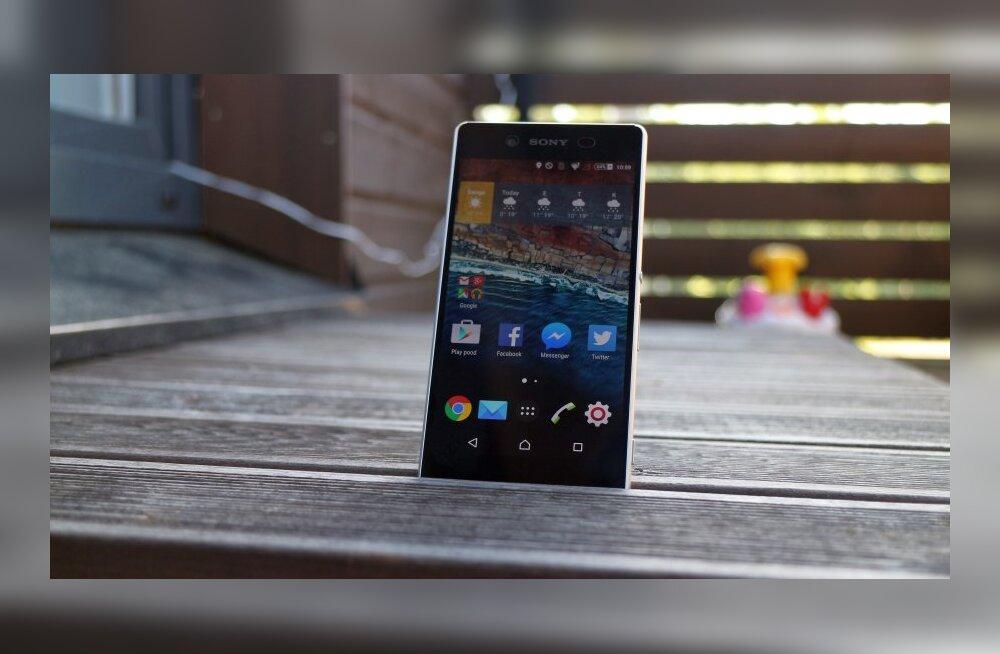 TEST: Sony uus tipptelefon Xperia Z3+: kui suur see pluss siis on?